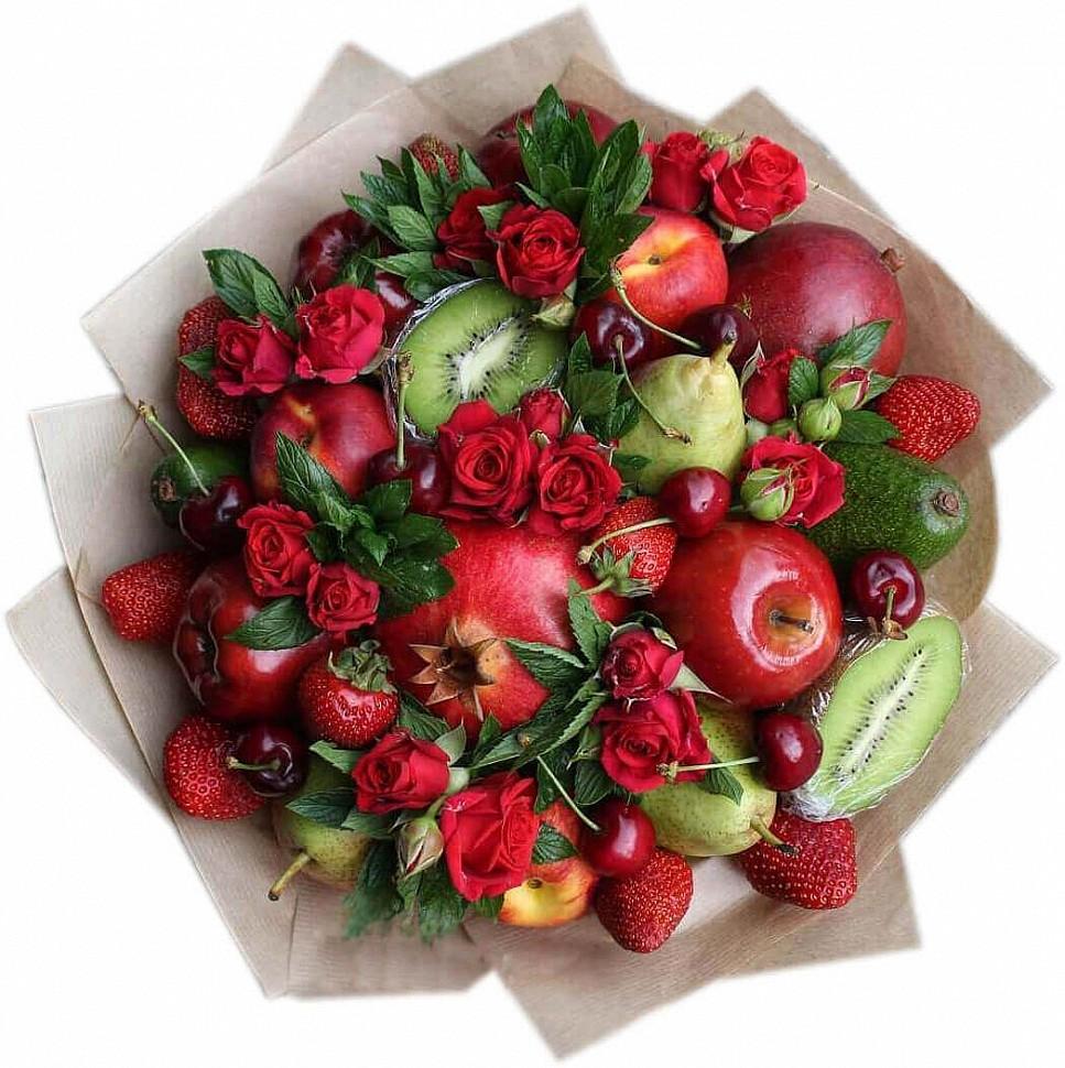 Букеты из фруктов и ягод