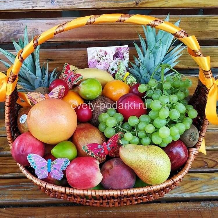Корзины фруктов с доставкой на дом