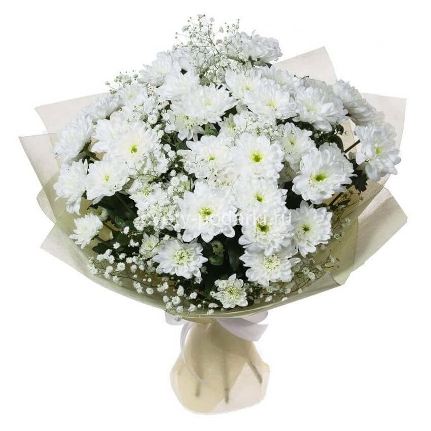 Купить букет из желтых хризантем | Доставка цветов по Москве за 2 часа | 850x850